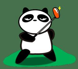 An unsociable panda sticker #767830