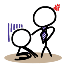 Business Stick Figures sticker #768161