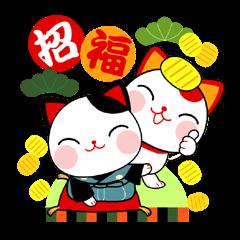 good-luck-cats<MANEKINEKO>