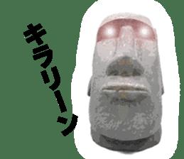 I love Moai. sticker #768713