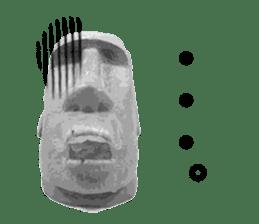 I love Moai. sticker #768720