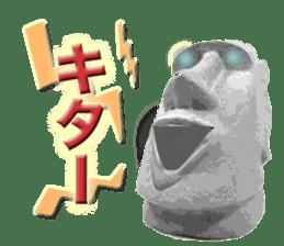 I love Moai. sticker #768726