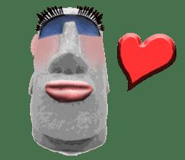 I love Moai. sticker #768731