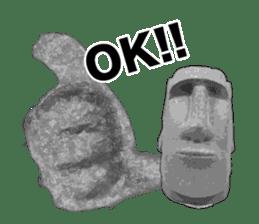 I love Moai. sticker #768736