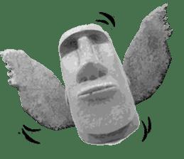 I love Moai. sticker #768740