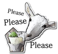 Shiropen the pygmy goat vol.1 sticker #769360