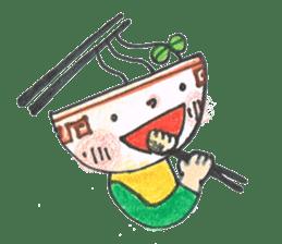 Ramen-chan sticker #769672