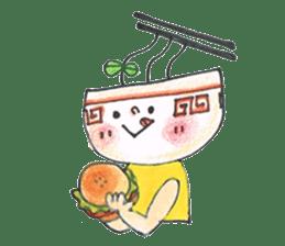 Ramen-chan sticker #769674