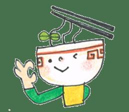Ramen-chan sticker #769677