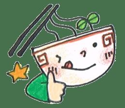 Ramen-chan sticker #769678