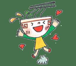 Ramen-chan sticker #769681