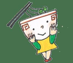 Ramen-chan sticker #769682