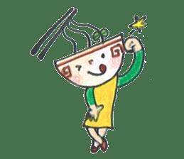 Ramen-chan sticker #769683