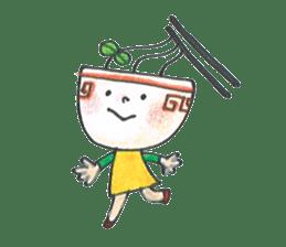 Ramen-chan sticker #769684