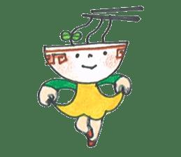 Ramen-chan sticker #769685