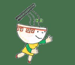 Ramen-chan sticker #769690
