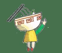 Ramen-chan sticker #769691
