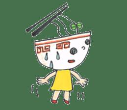 Ramen-chan sticker #769692