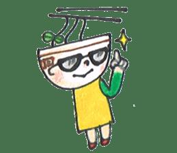 Ramen-chan sticker #769696