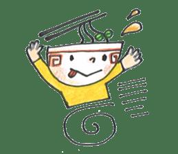 Ramen-chan sticker #769697