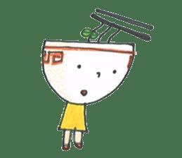 Ramen-chan sticker #769702