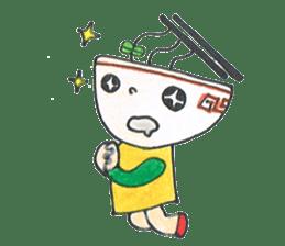 Ramen-chan sticker #769703