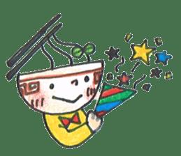 Ramen-chan sticker #769704