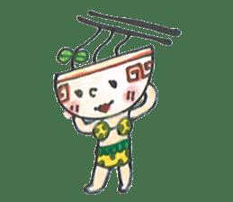 Ramen-chan sticker #769706