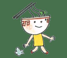 Ramen-chan sticker #769708