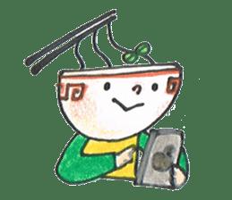 Ramen-chan sticker #769709