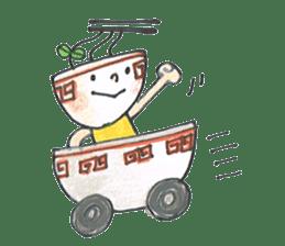 Ramen-chan sticker #769710