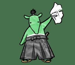 Samurai Mr.Bakumatsu sticker #769807