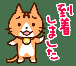 Blood type cat sticker sticker #770191