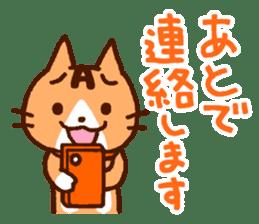 Blood type cat sticker sticker #770195