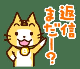 Blood type cat sticker sticker #770200