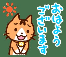 Blood type cat sticker sticker #770203