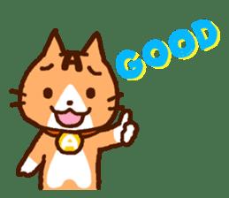 Blood type cat sticker sticker #770207