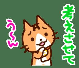 Blood type cat sticker sticker #770211