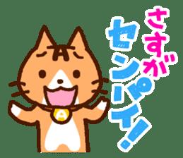 Blood type cat sticker sticker #770219