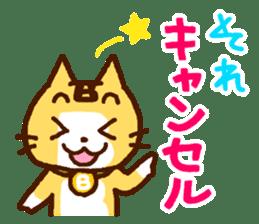 Blood type cat sticker sticker #770224