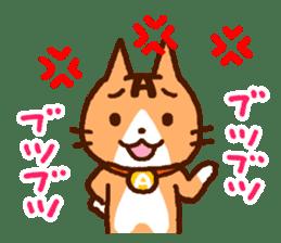 Blood type cat sticker sticker #770227