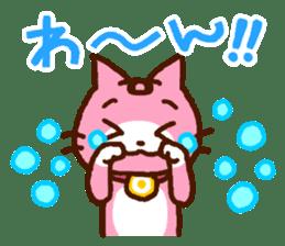 Blood type cat sticker sticker #770229