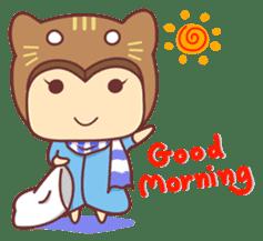 """Cat O' Cap """"Nya-tan"""" sticker #770671"""