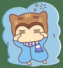 """Cat O' Cap """"Nya-tan"""" sticker #770672"""