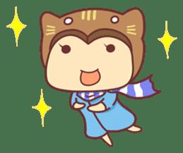 """Cat O' Cap """"Nya-tan"""" sticker #770676"""