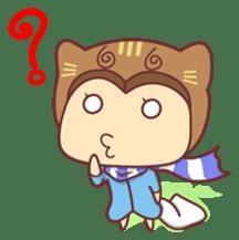 """Cat O' Cap """"Nya-tan"""" sticker #770684"""