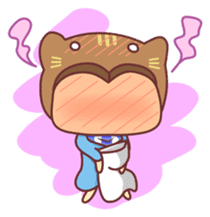 """Cat O' Cap """"Nya-tan"""" sticker #770685"""