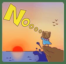 """Cat O' Cap """"Nya-tan"""" sticker #770689"""