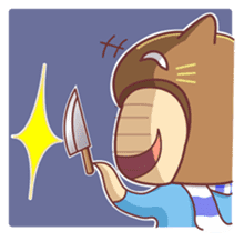 """Cat O' Cap """"Nya-tan"""" sticker #770692"""