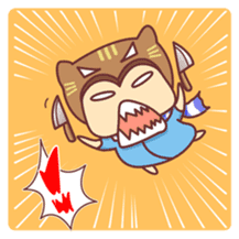 """Cat O' Cap """"Nya-tan"""" sticker #770693"""